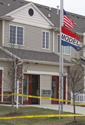 Model home where Ashley Okland killed