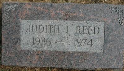Judith Reed gravestone