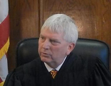 Judge Timothy O'Grady (Courtesy Sandy Parmenter, Hamburg Reporter)