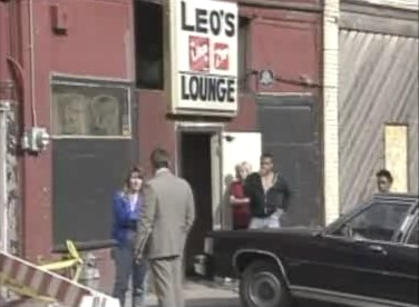 Leo's Lounge crime scene