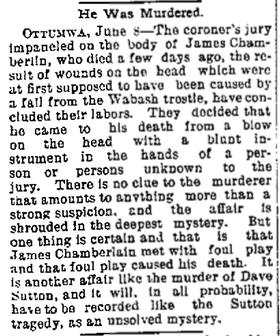 Courtesy Cedar Rapids Evening Gazette, June 8, 1893