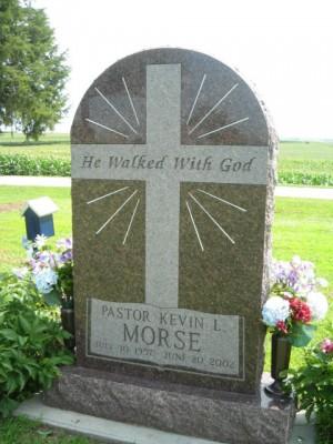 Kevin Morse gravestone