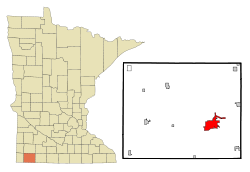 Worthington in Nobles County, Minn.