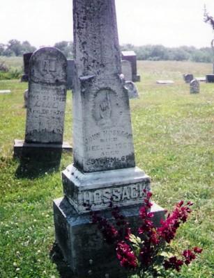 john-hossack-gravestone
