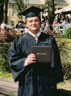 Adam Lack's Brown University graduate photo