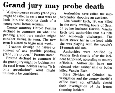 1982-10-28-grand-jury-may-probe-lisa-vander-esch-death