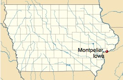 Montpelier in Muscatine County