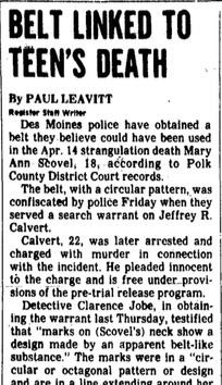 Courtesy Des Moines Register, May 5, 1976