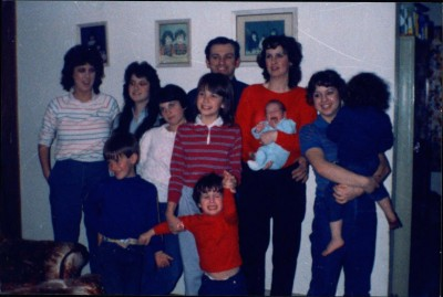 Kim Loose, far right, in a family photo.