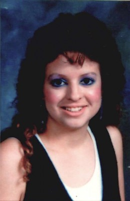 Kim Loose's last school photo