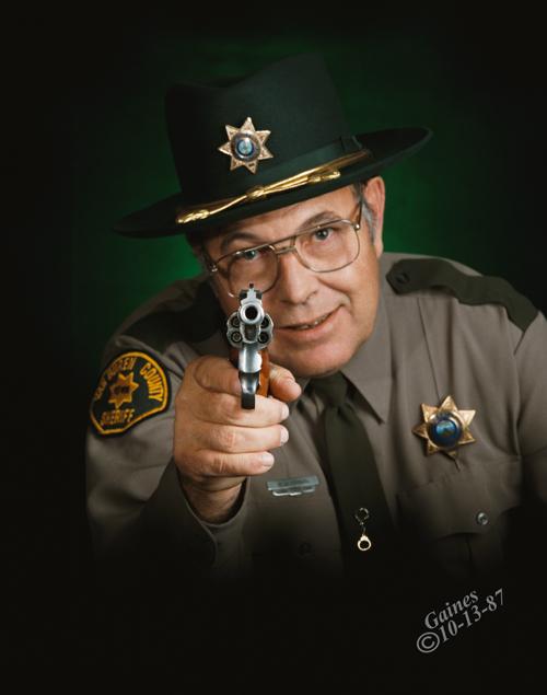 Van Buren County Sheriff Hugh Hardin