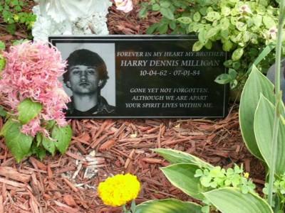 Harry Milligan headstone (Courtesy Mark Milligan)