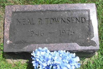 Neal Townsend gravestone