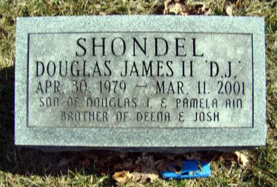 douglas-shondel-gravestone