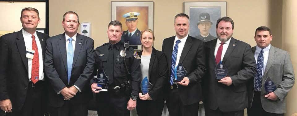 FLEOA National Group Achievement Award recipients