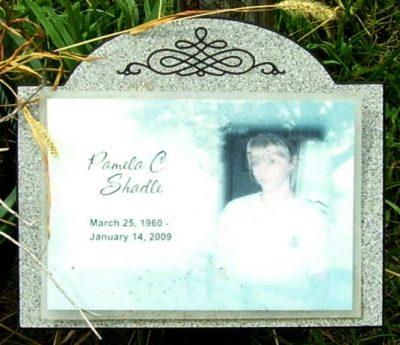 Pamela Shadle gravestone