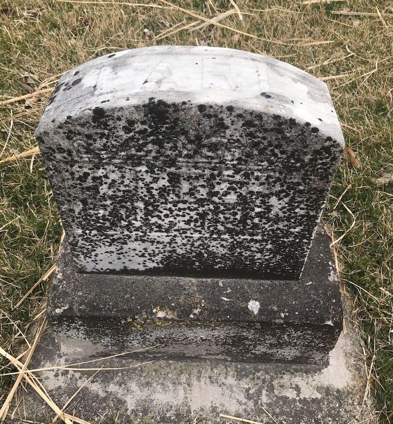 Earl Lambert gravestone