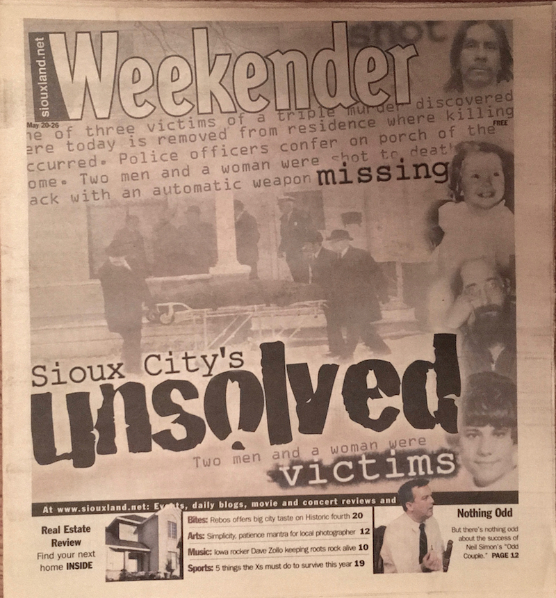 Weekender cover May 20, 2004