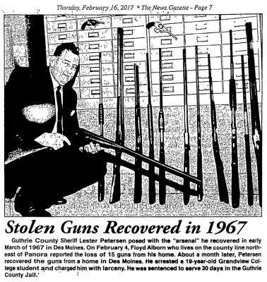 News Gazette Feb. 16, 2017, A Glance Into the Past