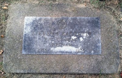 Steven Barrette gravestone