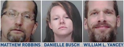 Three indicted in James Booher murder