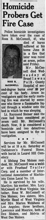 Homicide Probers Get Fire Case
