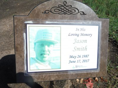 Jason Smith gravestone