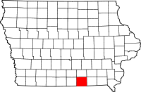 Appanoose County in Iowa