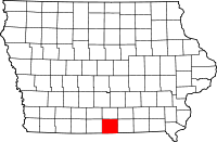 Wayne County in Iowa